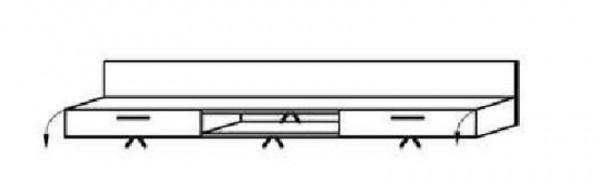 Schröder Kitzalm Alpin - TV-Hängeboard 192 cm - Nr. 261