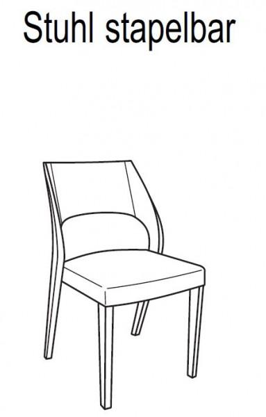 voglauer v solid stuhl 55 sehp55 4 fu st hle. Black Bedroom Furniture Sets. Home Design Ideas
