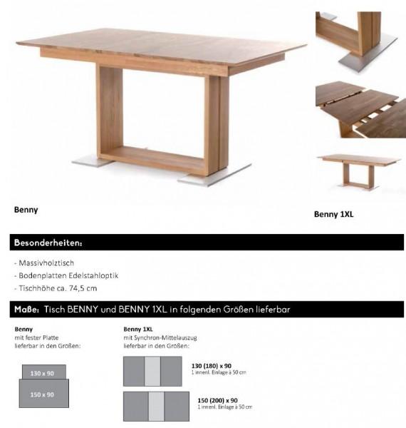 Standard - Säulentisch Benny / 1XL
