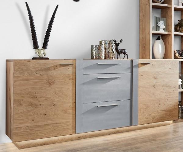 Schröder Kitzalm Alpin - Sideboard - Nr. 3754 Akzent Aluminium