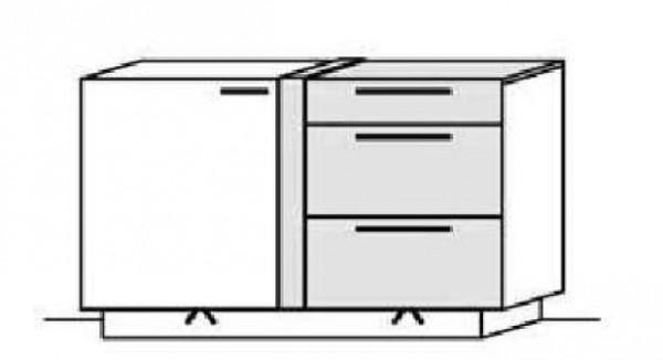 Schröder Kitzalm Alpin - Sideboard - Nr. 3659 Akzent Aluminium
