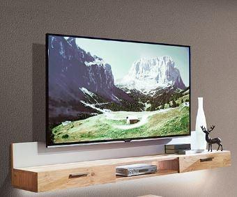 Schröder Kitzalm Alpin - TV-Hängeboard 192 cm - Akzent Satinglas