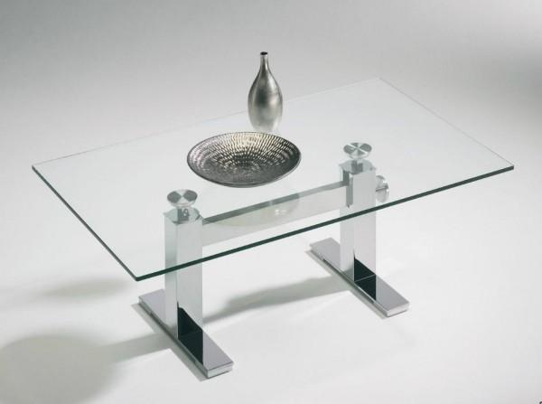 Hasse Glas-Couchtisch - 8264-CK-117 - Höhenverstellbar