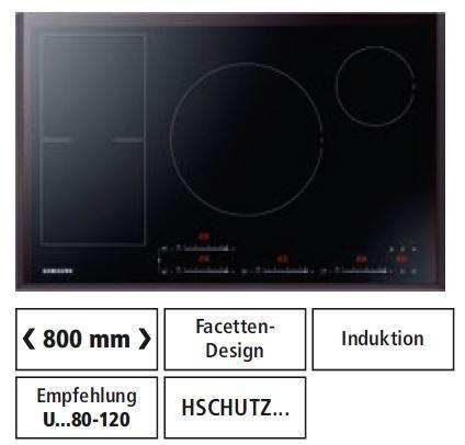 Samsung Nz84 F7nc6 Ab Eg Glaskeramik Kochfeld Mit Induktion