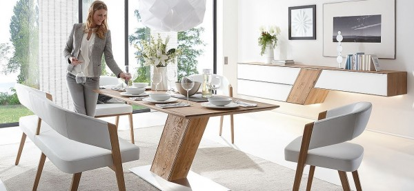 Decker-Möbelwerke - Ramos - Sitzbank - PG 3 Chenille Flachgewebe - Breite 140 cm
