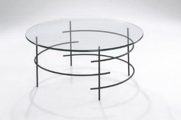 Hasse Glas-Couchtisch 8510 - Design Couchtisch
