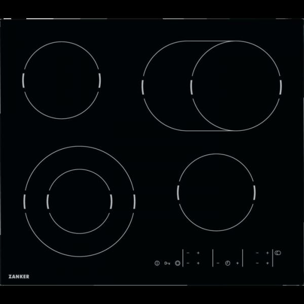 Zanker - KEV 6442 FBB - Glaskeramik-Kochfeld