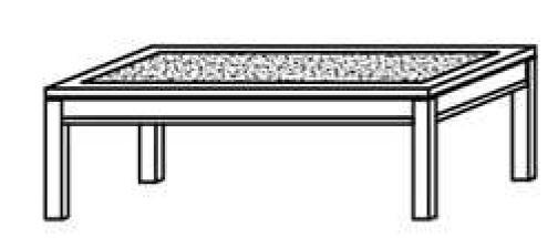 Schröder Kitzalm Montana - Couchtisch - Nr. CTS120A