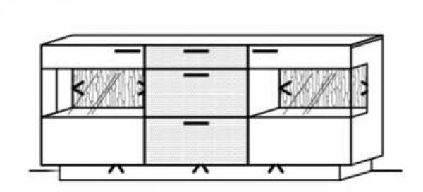 Schröder Kitzalm Pur - Sideboard - Nr. 3788