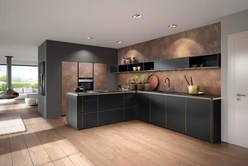 Nolte-Küchen - Küche Flair/Ferro | Küchenzeilen | Küchen | KÜCHE ...