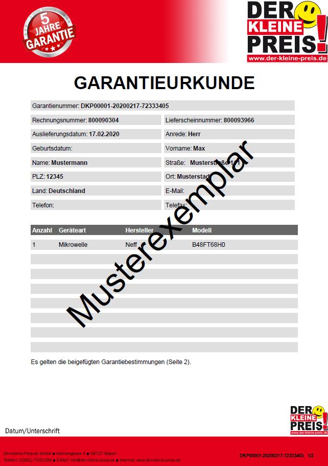 Garantieurkunde_1