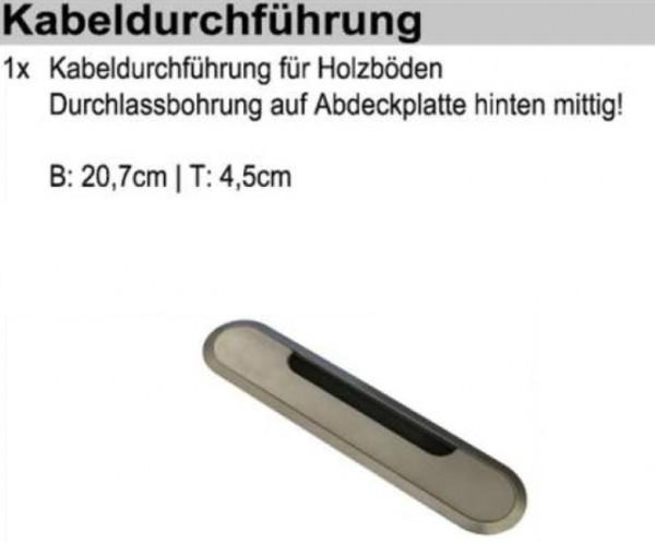 Schröder Zubehör - Kabeldurchführung - KD2004