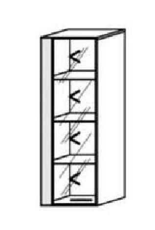 Schröder Kitzalm Alpin - Hängeelement - Nr. 4109 Blende Aluminium