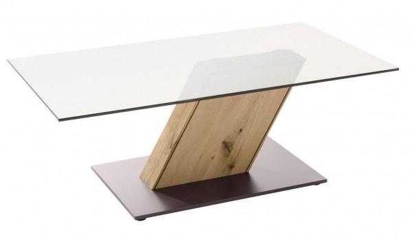 Decker-Möbelwerke - Ramos - Couchtisch mit Oberplatte Glas