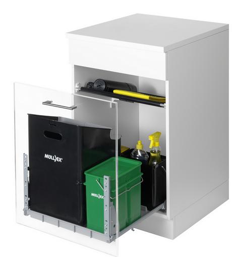 Naber Müllex Comfort 35/5/4/4 Auszug-Abfallsammler 8011021