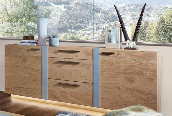 Schröder Kitzalm Alpin - Sideboard - Nr. 3733 Blende Aluminium