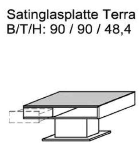 Schröder Zermatt - Couchtisch - Nr. CTT90