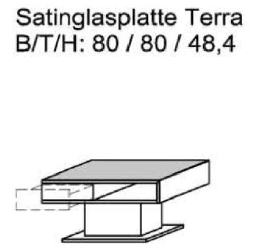 Schröder Zermatt - Couchtisch - Nr. CTT80