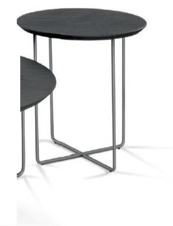 Hasse Couchtisch System Soft - verschiedene Ausführungen - Tischplatte rund