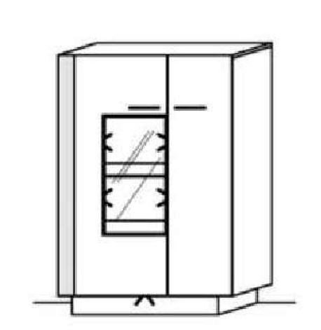 Schröder Kitzalm Alpin - Standelement - Nr. 4315 Blende Aluminium