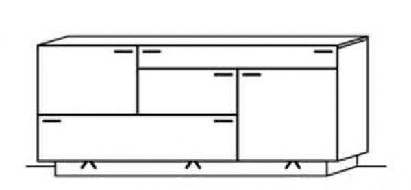 Schröder Kitzalm Montana - Sideboard - Nr. 3727