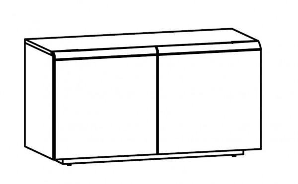 Voglauer V-Cube - Lowboard 128/69 - 2-türig - CLH12T