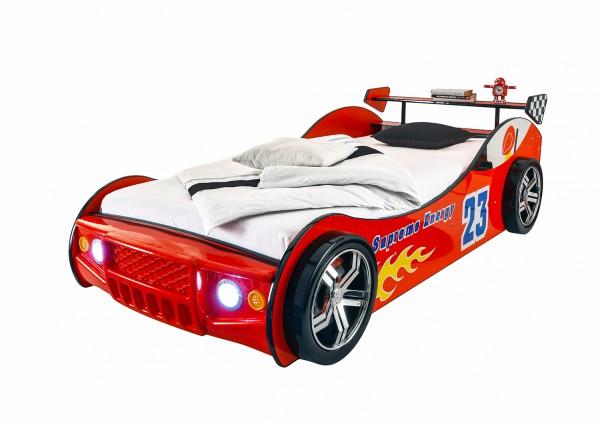 Kinderbett Energy - 57-515-75-4 - Rennauto-Bett - Rot