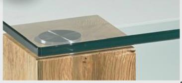 Oberplatte-Klarglas