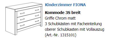 Paidi Kommode Fiona Breit Schubladenkommoden Kommoden Schlafen