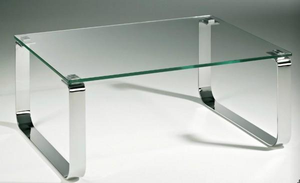hasse glas couchtisch laredo chrom gestell. Black Bedroom Furniture Sets. Home Design Ideas