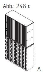 Röhr-Bush - Techno 019 - Aufsatzelement für 246 links