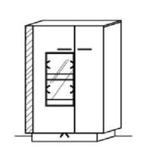 Schröder Kitzalm Alpin - Standelement - Nr. 4325 Blende Almschroppung