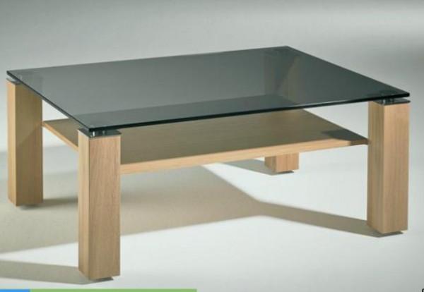 hasse glas couchtisch new york eiche llack couchtische tische wohnen der kleine. Black Bedroom Furniture Sets. Home Design Ideas