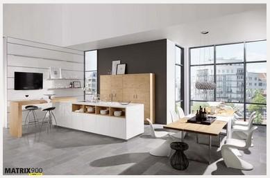 Nolte-Küchen - Küche Artwood/Lux