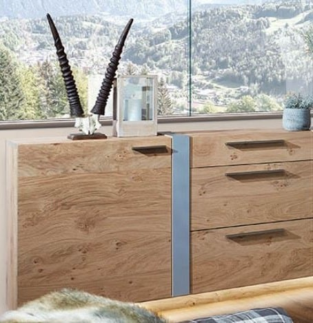 Schröder Kitzalm Alpin - Sideboard - Nr. 3633 Blende Aluminium