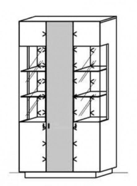 Schröder Zermatt - Standelement - Nr. 6590