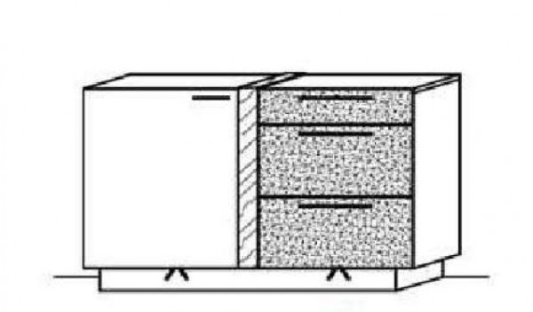 Schröder Kitzalm Alpin - Sideboard - Nr. 3683 Akzent Satinglas