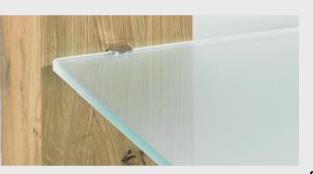 Ablageplatte-satiniert