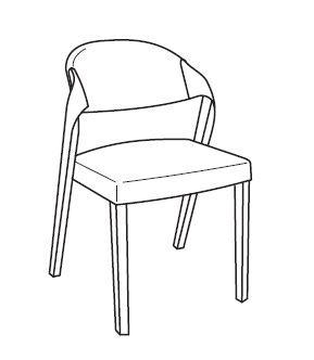 voglauer v alpin stuhl gepolstert 35 segp35 4 fu st hle st hle wohnen der kleine. Black Bedroom Furniture Sets. Home Design Ideas