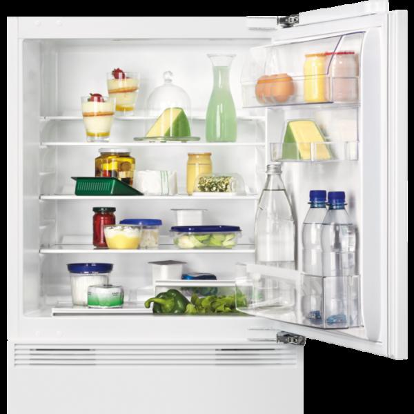 Zanker - KBU 14001 DK - integrierbarer Unterbau-Kühlschrank