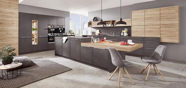 Nobilia - Küche Stoneart 303