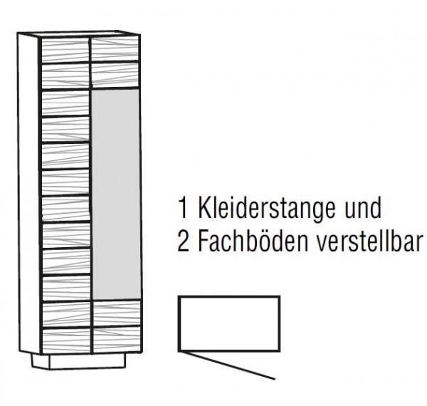 Voglauer V-Montana - Dielenschrank 64/202 - 1-türig - ND64