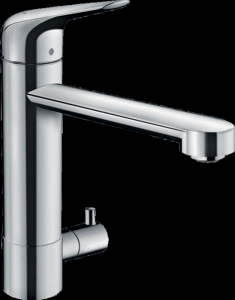 Hansgrohe M424-H180 Einhebel-Küchenmischer mit Geräteabsperrventil