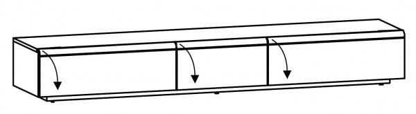 Voglauer V-Cube - Lowboard 256/37 - CL25