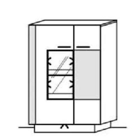 Schröder Kitzalm Alpin - Standelement - Nr. 4319 Akzent Aluminium
