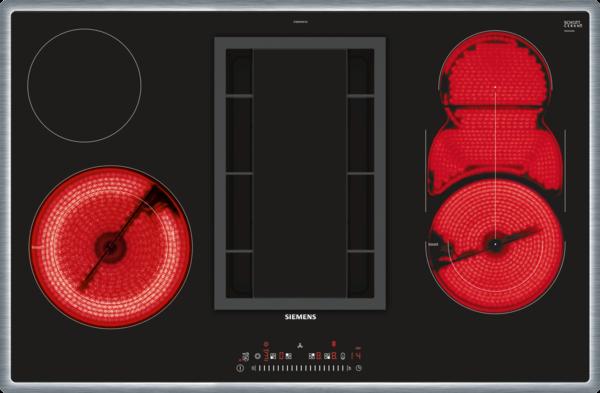 siemens et 845fm11e kochfeld mit dunstabzug strahlung induktionskochfeld autark. Black Bedroom Furniture Sets. Home Design Ideas