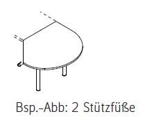 Röhr-Bush - Techno 019 - Anbauplatte - Breite 104 cm
