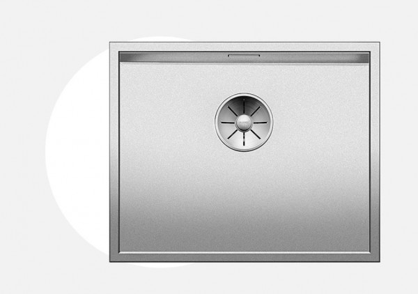 Blanco Zerox 500-U Durinox Unterbauspüle 521559