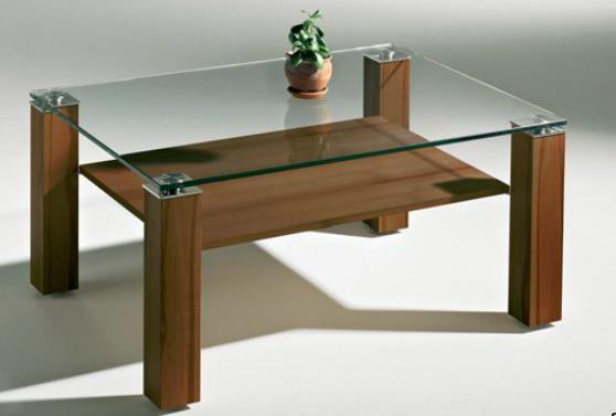 hasse glas couchtisch new york nussbaum furniert couchtische tische wohnen der kleine. Black Bedroom Furniture Sets. Home Design Ideas