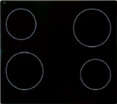 Altus - KON 1000 X - Glaskeramik-Kochfeld